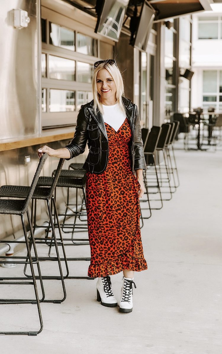 Leopard and Leather – 2 Must Haves for Fall